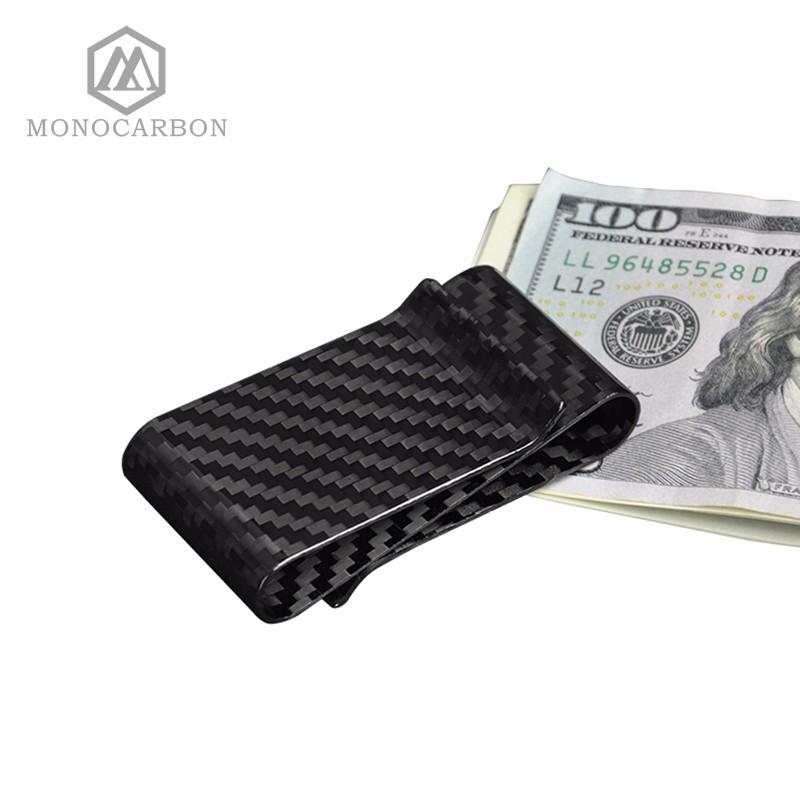 double side carbon fiber money clip (2)