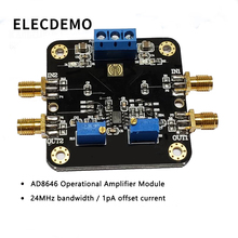 AD8646 Low Noise Operational Amplifier Module Rail-to-Rail Output 24MHz Bandwidth 1pA Offset Current