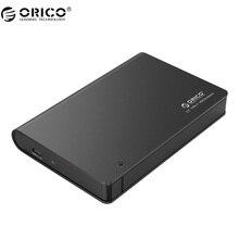 ORICO 2598C3 2.5 дюймов жесткий диск корпус с SATA Интерфейс и Тип USB к Тип C кабель для HDD /SDD-черный