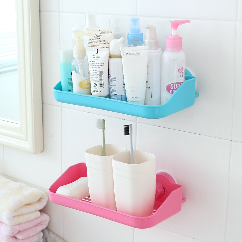 Fashion 1pcs Powerful Corner Space Shelf Bathroom Shower