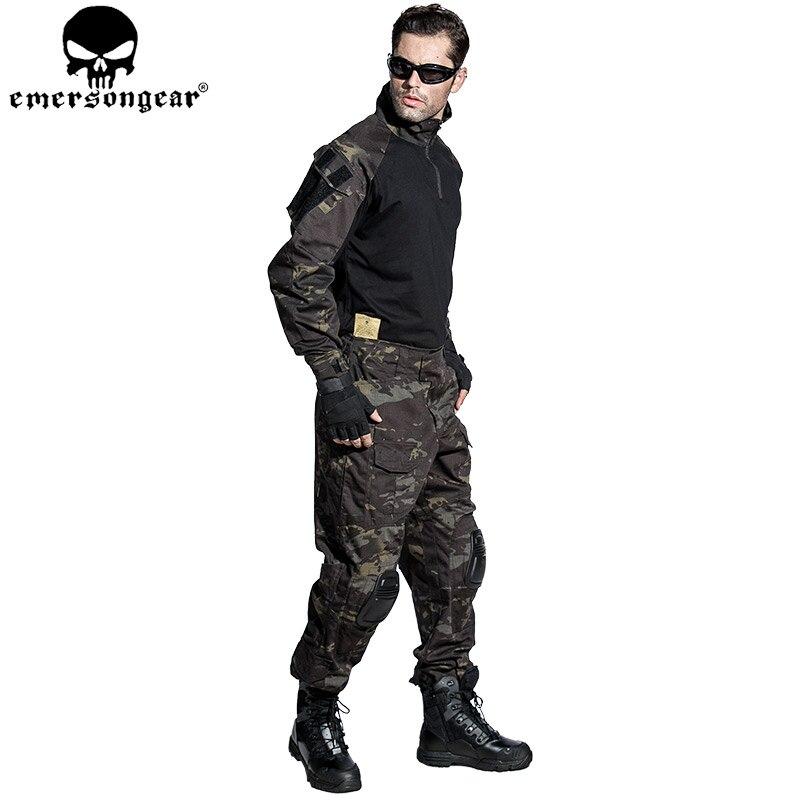 Emersongear G3 Multicam Uniform Shirt & Pants Hunting Airsoft Paintball Combat Tactical Military BDU MCBK new emersongear tactical woman g3 combat uniform pants