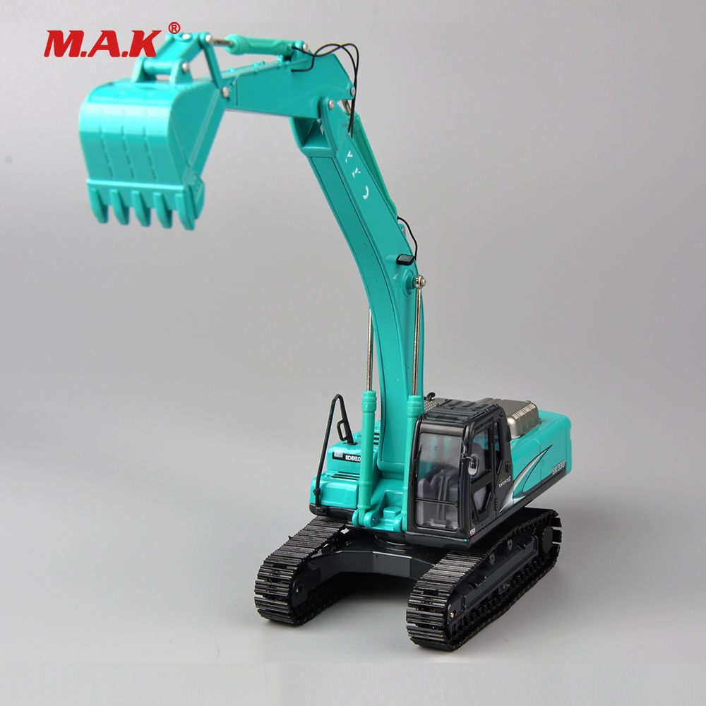 Collection Diecast 1/50 Geospec Acera SK330-8 Type Diecast Blue Color Excavator Model Toy Diecast Model excavator solenoid valve yn35v00050f1 sk260lc 8 sk330 8 sk350 8
