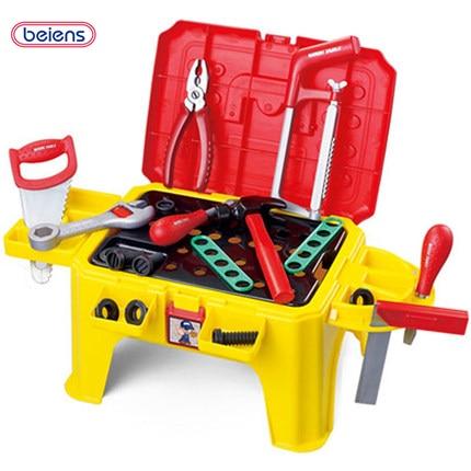beiens boys hand tool toy developmental children set kids garden tool toys toolbox kit the. Black Bedroom Furniture Sets. Home Design Ideas
