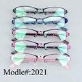 2021 женщины дизайнер половина обод металлические оптические очки оправы дальнозоркость очки близорукость очки