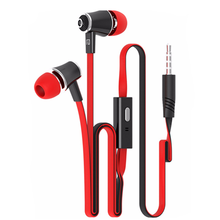 JM21 Stereo Bass Earphone Earpieces Headset with MIC 3.5MM Hands-free for IOS Andriod Smartphone Mp3 Tablet