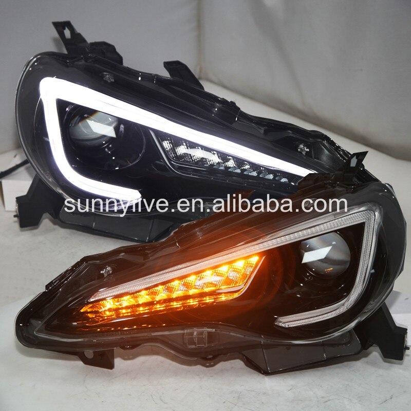 For Toyota GT86 Led Front Light Led Projector Lens Light 2013-2015 YZ