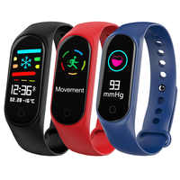 M3s color screen intelligent fitness tracker pedometer running calorie digital bracelet health watch outdoor sports accessories