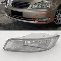 Cafoucs For Toyota Corolla 2003 2004 2005 2006 Car Front Bumper Fog Light Driving Lamp With Bulbs 81220 02080 81210 02080