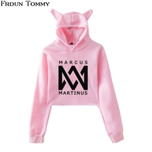 Frdun Tommy Marcus &martinus Cat Ear Sweatshirt Women Favorite Keep Warm 2018 New Ouewear Casual Cute