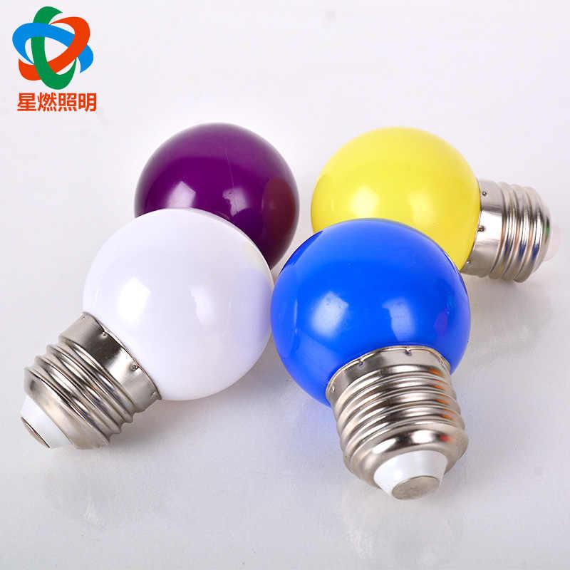 צבע קישוט LED E14 LED מנורת E27 LED הנורה AC 220V 230V 240V 15W 12W 9W 6W 3W Lampada LED זרקור שולחן מנורת מנורות אור