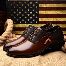 Big Size 38-47 New Mens Oxford Shoes 2015 Genuine Leather Fashion Dress Office Luxury Autumn For casual Shoes Men's Flats ZJ00