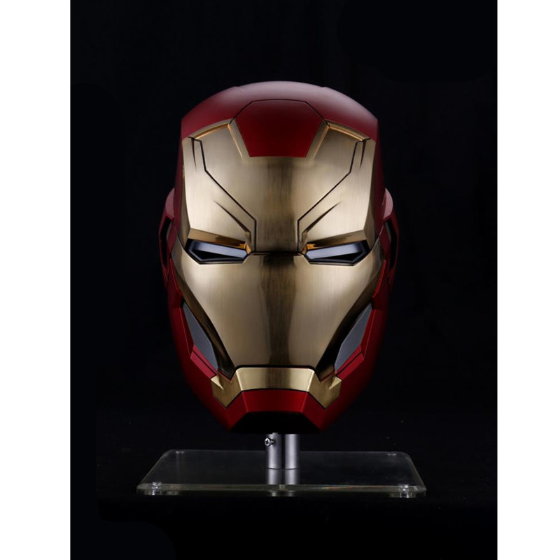 The Avengers 4 Iron Man MK46 Wearable Armor Limited Edition Electric opening And Closing Helm 1:1 GK Statue Model Toy M878The Avengers 4 Iron Man MK46 Wearable Armor Limited Edition Electric opening And Closing Helm 1:1 GK Statue Model Toy M878