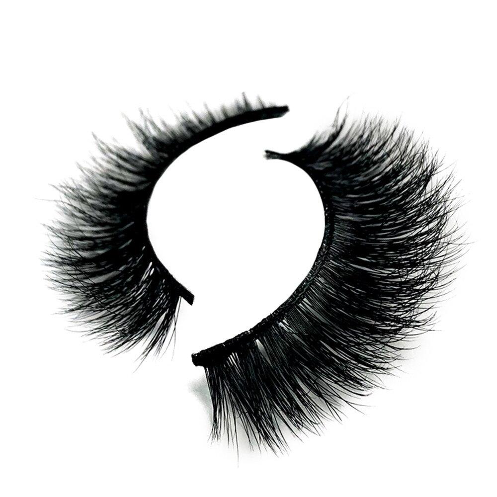 Mink Eyelashes 3D Mink Lashes Thick HandMade Full Strip ...