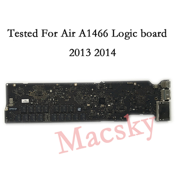 Tested A1466 logic Board for MacBook Air 13 A1466 Motherboard 2013 2014 i5  1 3GHz