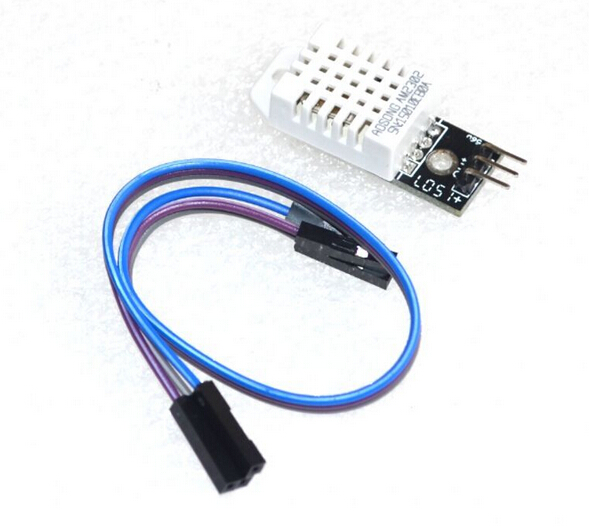 1pcs DHT22 Digital Temperature and Humidity Sensor AM2302 Module+PCB with Cable , original electronics kit ic