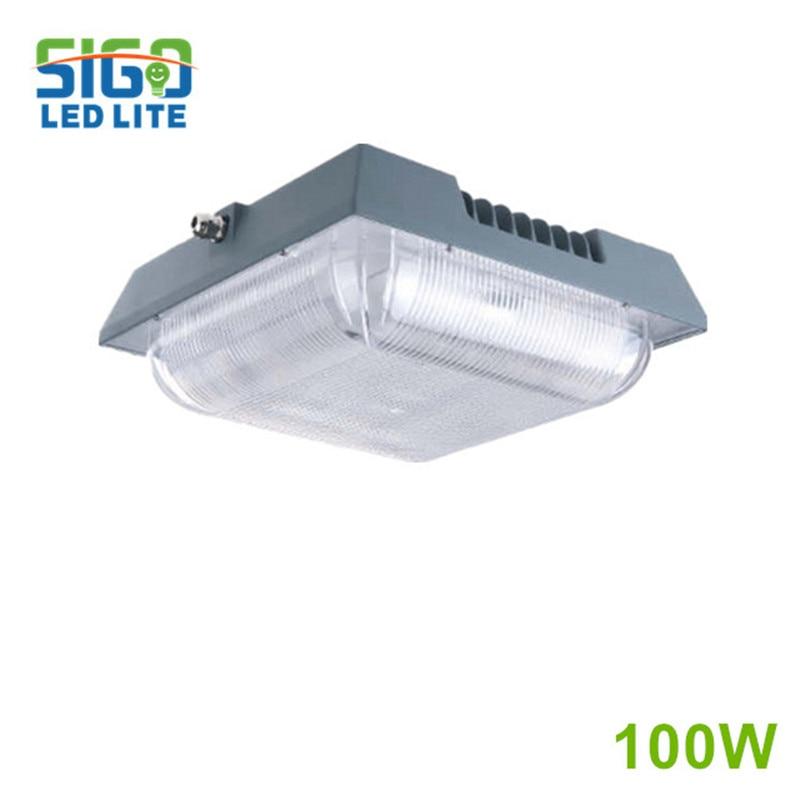 GGC серия светодиодный бензиновый лампа для навеса 50 Вт коммерческое освещение