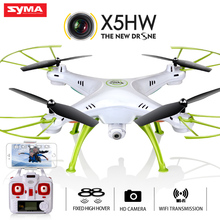 Quadcopter Syma X5HW (X5SW Upgrade) Drone with Camera HD FPV 2.4G 4CH RC Helicopter Original Quadrocopter Toy