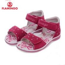 4e5e3c21f Flamingo marca 2018 nueva llegada del resorte niños zapatos moda alta  calidad 100% cuero genuino sandalias de los niños para la .