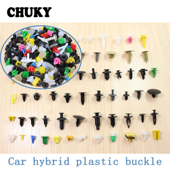 CHUKY Mixed Auto Fastener Car Door Bumper Fender Rivet Retainer Clips Accessories For BMW E36 F30 F10 E30 Jeep Renegade grand image