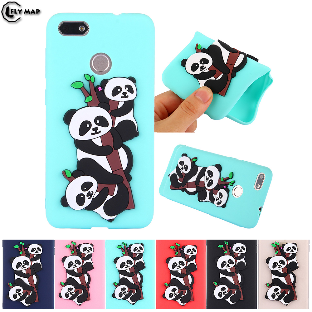 Panda Case for Huawei P9 Lite Mini SLA-L03 SLA-L22 Soft Silicone protective phone Cover  ...
