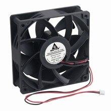 Новый 1 шт. с решетки вентилятора защищать чистый 120мм 120x38x38mm шарикоподшипник вентилятор 24В кулер большой ветер бесплатная доставка