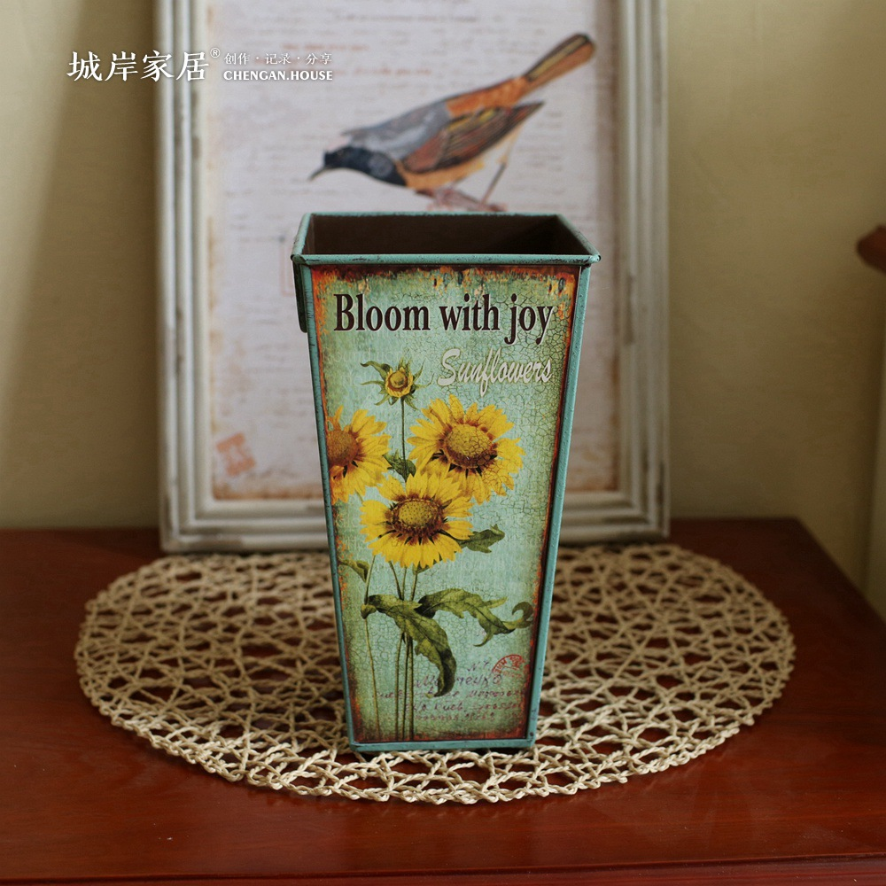 Creative home decoration vases american country beautiful flower creative home decoration vases american country beautiful flower vase home furnishing simulation flowers vintage vases in vases from home garden on izmirmasajfo