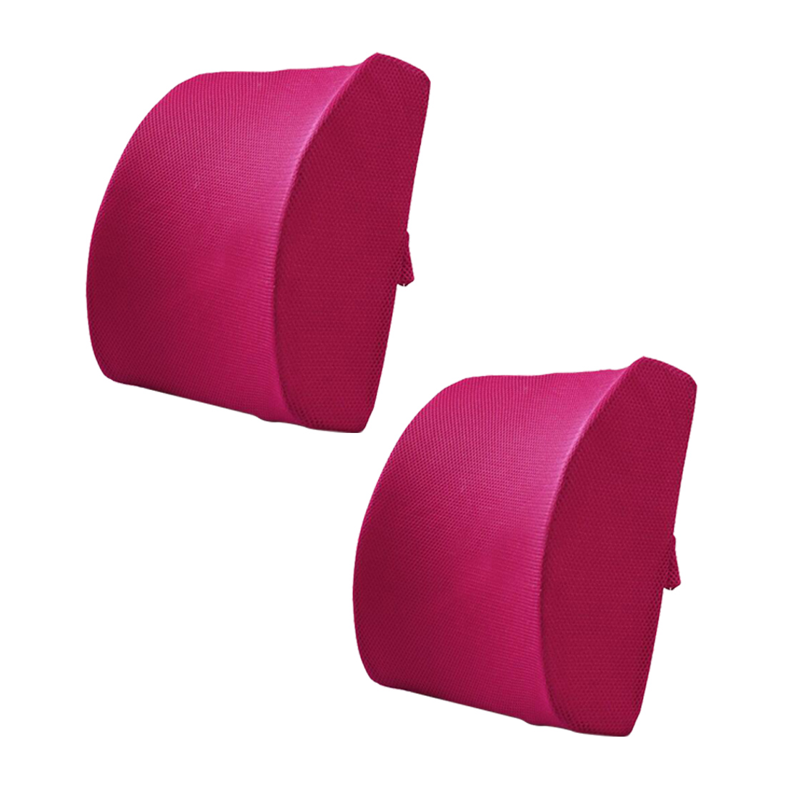 Back Waist Support Travel Pillow Memory Foam Breathable Healthcare Lumbar Cushion  Car Seat Home Office Pillows Relieve Pain