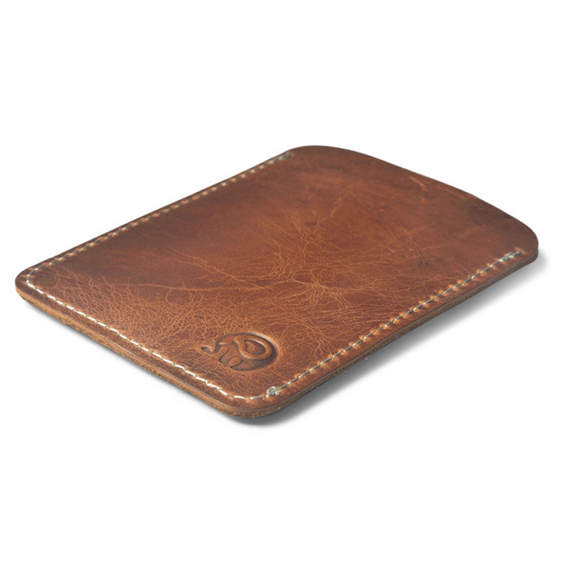 Slim Cow Leather Card Holder for Credit Card Case Porte Carte for Credit Cards Cardholder Business Bank Card Holder T smiley sunshine fashion business id credit card holder women bank card case cardholder female slim wallet for cards porte carte