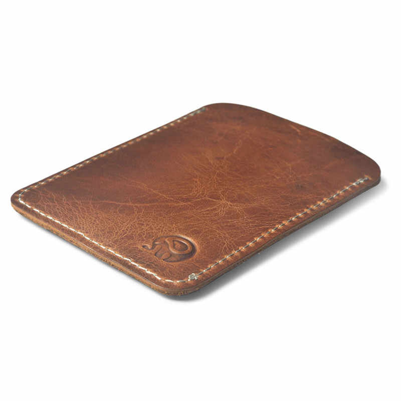 bcf0f40df9c Slim Cow Leather Card Holder for Credit Card Case Porte Carte for Credit  Cards Cardholder Business