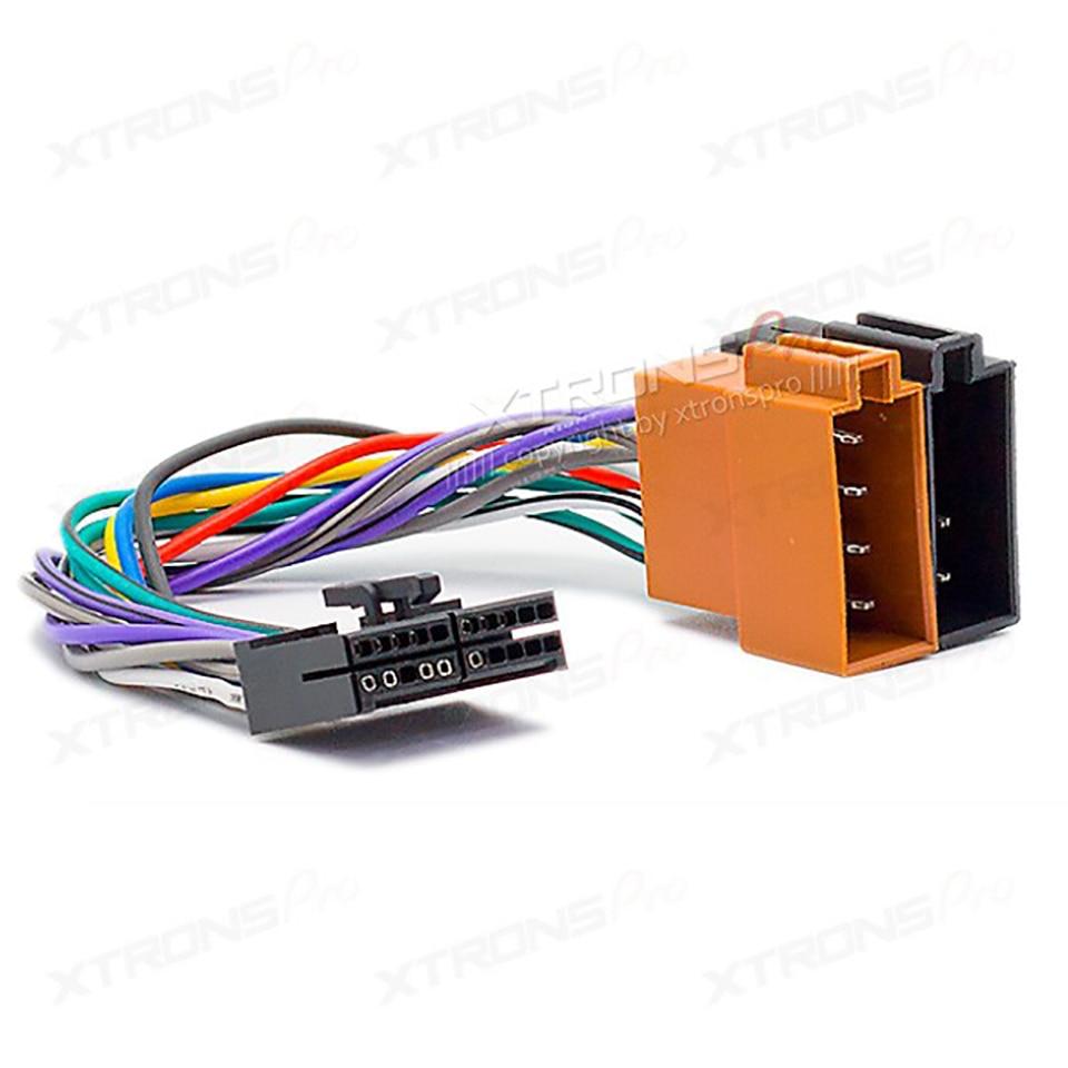 kenwood 16 pin wiring harness diagram 2002 honda civic parts car stereo adapter on radio frame ...