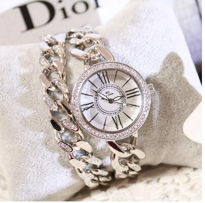 010786Luster Women Watches Quartz Geneva Rhinestone Luxury Roman Lady Relogio Times Simple Superior Quality Casual s