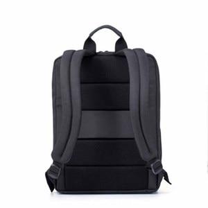Image 5 - 100% Оригинальные Классические деловые рюкзаки Xiaomi, вместительная Студенческая сумка, дорожная школьная сумка для ноутбука Macbook air 12,5 13,3