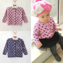 Child sweater female child sweater 2014 baby sweater thickening female child sweater cardigan sweater funk since 1776 sweater
