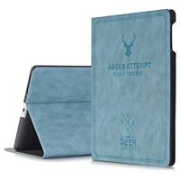 For IPad 2 3 4 Cover Wake Sleep Smart Shell Deer Design Folio Stand Protective Case