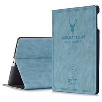 For IPad 2 3 4 Cover Wake Sleep Smart Shell Deer Design Folio Stand Protective Case