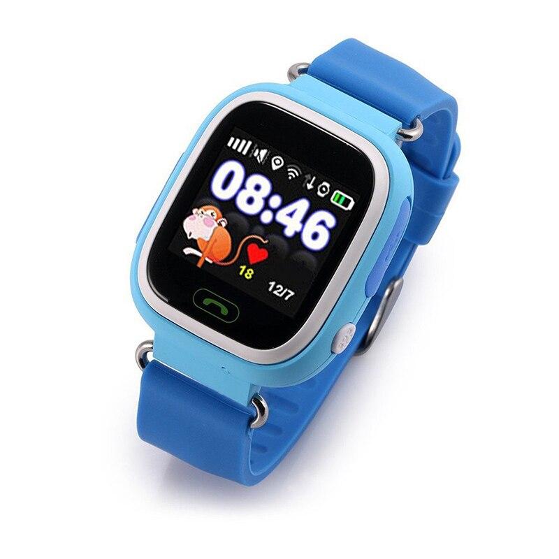 TFT Q90 Смарт часы для детский спортивный GPS телефон позиционирования Мода Шагомер Цвет Сенсорный экран WI-FI местоположение умный Браслет