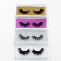 LEHUAMAO Mink Eyelashes 3D Mink False Eyelashes Handmade Mink Collection 3D Dramatic Lashes 50 pairs Eyelash Extension Free DHL