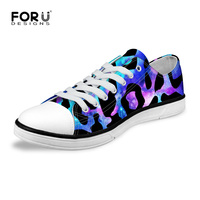 Trend Fashion Women Canvas Shoes Low Galaxy Star Flat Walking Shoes Casual Lace Up Female Trainer