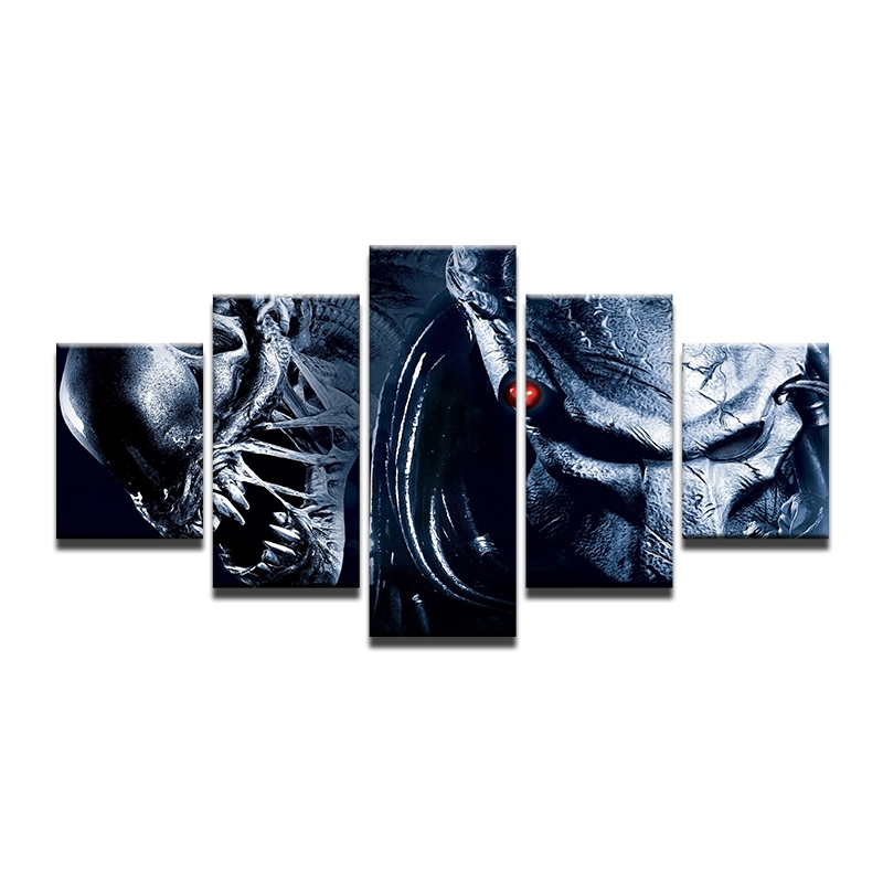 Art Print Poster Canvas Aliens Vs Predator 2 Requiem Avpr Us Movie