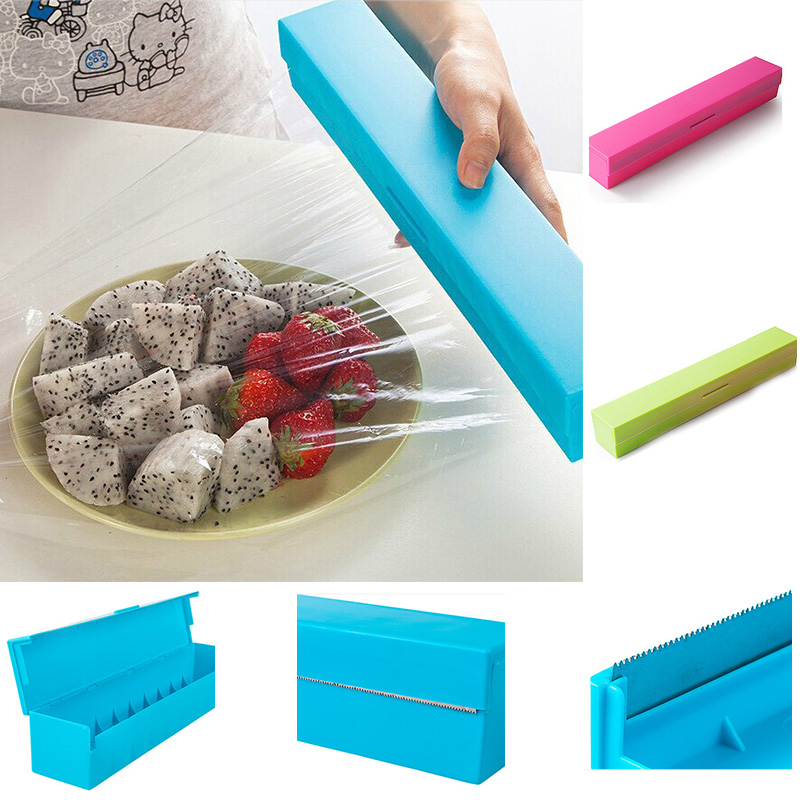 Kitchen essential cutters Colorful creative cutters Simple wrap film Safety material No pollution