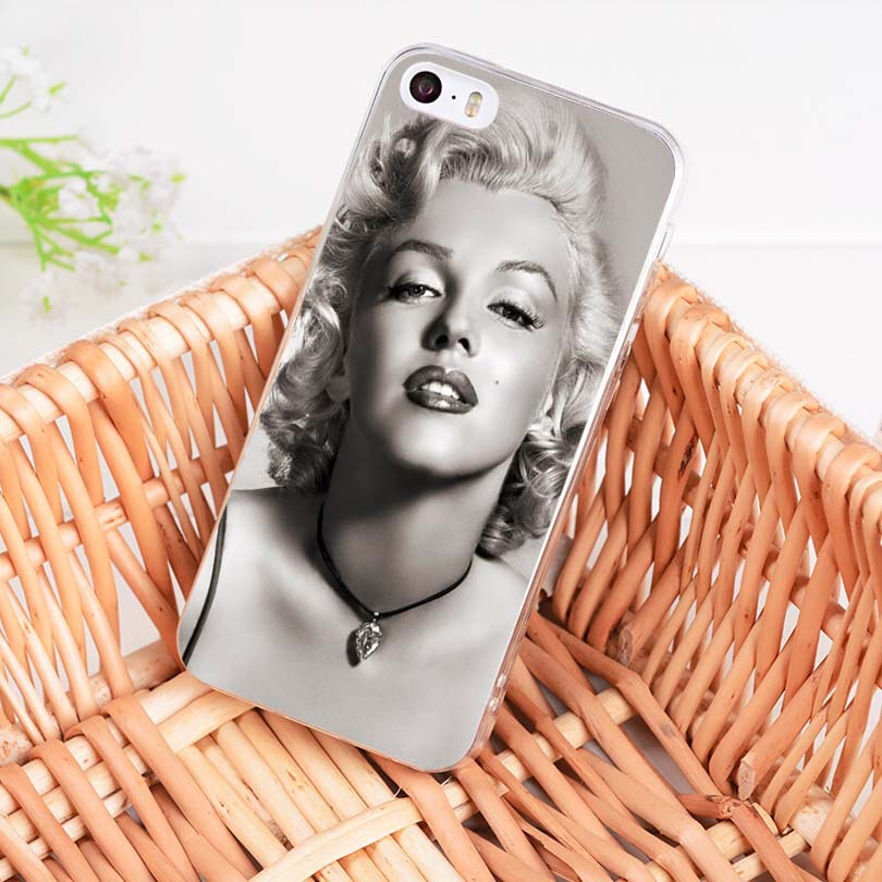Cellphones & Telecommunications Maiyaca Marilyn Monroe With A Novelty Cat For Iphone 5c 5s 6s 7 8 Plus X Xr Xs Max Phone Cases Transparent Soft Tpu Cover Cases Phone Bags & Cases