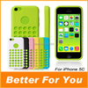 10pieces/lot Silicone Case For iPhone 5C Official Style,Colorful Soft TPU Gel Rubber Cover Pouch For iPhone 5C
