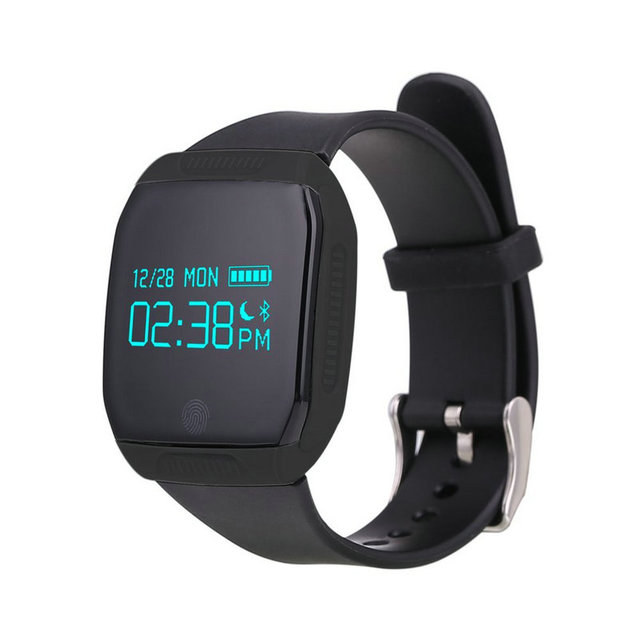 E07S Waterproof Swimming Smart Band Bracelet Bluetooth Call SMS Remind Smartband Wristband Pedometer Sleep Monitor OLED Display