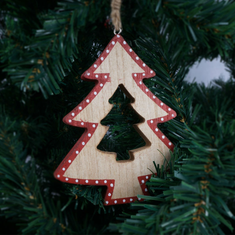 aliexpresscom buy christmas tree decoration supplies wood christmas star heart hanging ornament outdoor christmas pendant free shipping from reliable - Outdoor Christmas Star Decoration