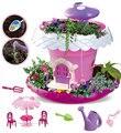 DIY растения растут дома игрушки почвы + семена развивающие ролевые игрушки волшебный домик игрушечные растения подарок ребенку
