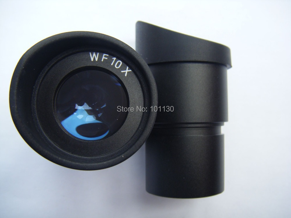 WF10X 20mm View Field Wide Angle microscope Eyepiece Optical Lens w/ rubber cups guards Mount Size 30.5mm for Stereo Microscope  10 x double end thread m4 10 rubber damper rubber mount mount size 15mm 15mm