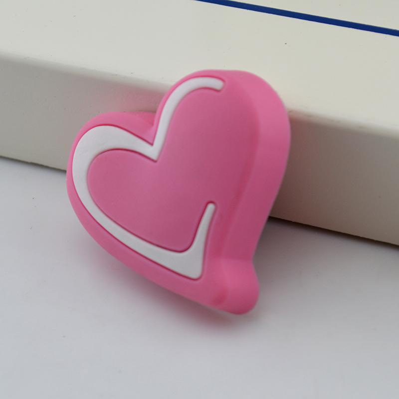 venta caliente nios perillas de los cajones del armario manijas manija dresser cajn armario rosa corazn
