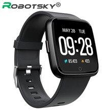 Y7 Смарт-часы IP67 Водонепроницаемый Фитнес трекер монитор сердечного ритма крови Давление Для женщин мужские часы Smartwatch для IOS и Android