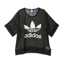 Adidas Women's New Arrival short sleeve T-shirts AJ8863 Breathable Jersey Sportswear Superstar Jersey