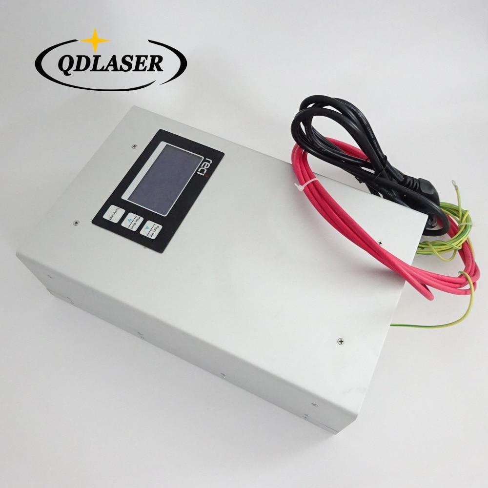 Original Intelligent RECI P12 CO2 Laser Power Supply 80W 90W 110V 220V for RECI CO2 Laser Tube W1 S2 W2 Z2